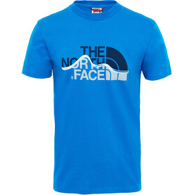 The North Face Mountain Line S/S Tee Men bomber blue